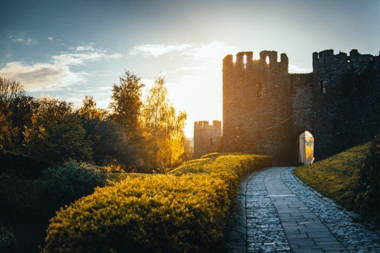 droga do zamku